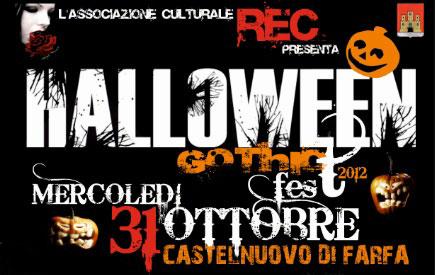 A Castelnuovo di Farfa l'Halloween Gothic Fest
