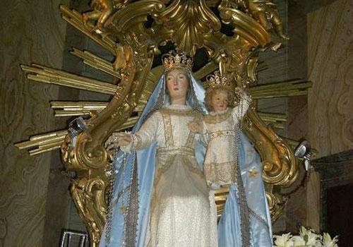 Festa della Madonna del Rosario a Castelnuovo di Farfa