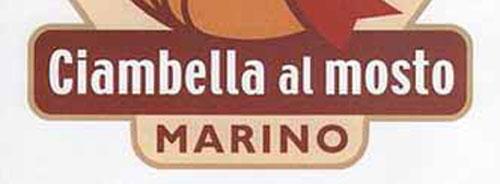 Domenica a Marino la Sagra della Ciambella al Mosto