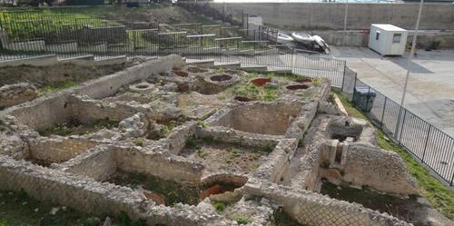 La zona archeologica Agnuli a Mattinata