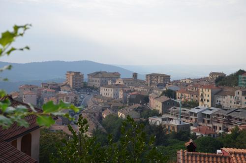 Itinerario nei Monti della Tolfa