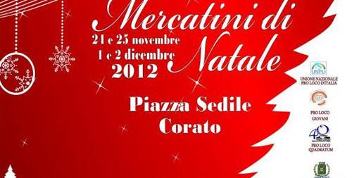 I mercatini di Natale a Corato