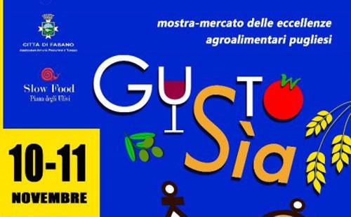 """""""Gustosìa"""" a Fasano il 10 e 11 novembre"""
