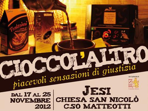 """Jesi dal 17 al 25 novembre """"Cioccolaltro"""""""