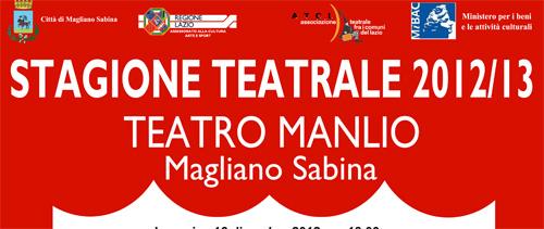 Magliano Sabina, il cartellone della stagione teatrale