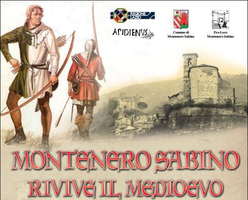 Montenero Sabino, il 10 novembre Rivive il Medioevo