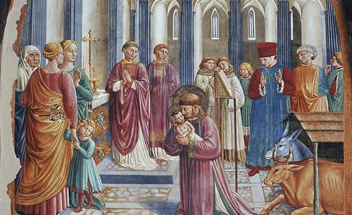 A Greccio l'appuntamento con l'antico presepe di San Francesco
