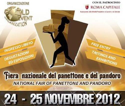 Fiera del Panettone e Pandoro il 24 e 25 novembre a Roma