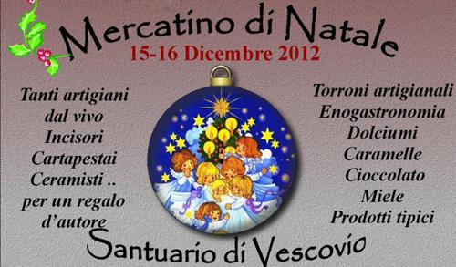 Torri in Sabina: mercatino di Natale il 15 e 16 dicembre
