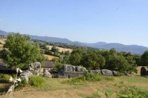 I resti di Villa d'Assio a Colli sul Velino, ora si cerca un villaggio dell'età del bronzo