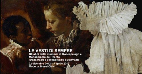 L'abbigliamento popolare del Settecento e Ottocento in mostra a Modena