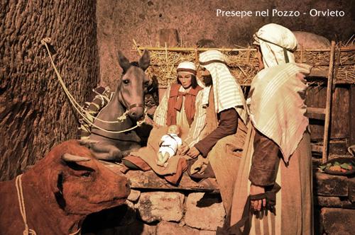 Il Presepe nel Pozzo della Cava ad Orvieto