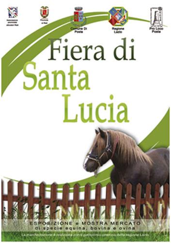 Il 16 dicembre Fiera di Santa Lucia a Posta