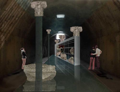 Roma: la decorazione architettonica delle Terme di Caracalla