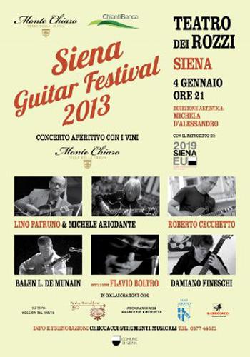 Siena Guitar Festival 2013
