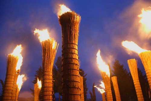 Festa delle Farchie il 17 gennaio in provincia di Chieti