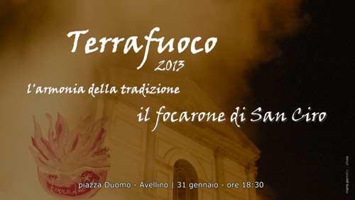 Avellino, Terrafuoco 2013 i prossimi appuntamenti