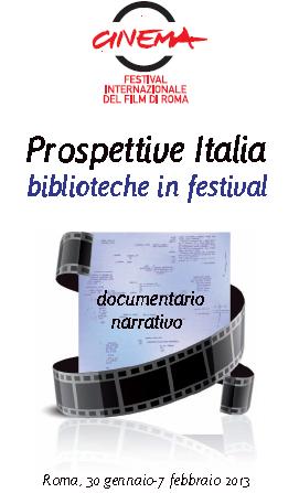 Prospettive Italia-Le biblioteche di Roma in festival