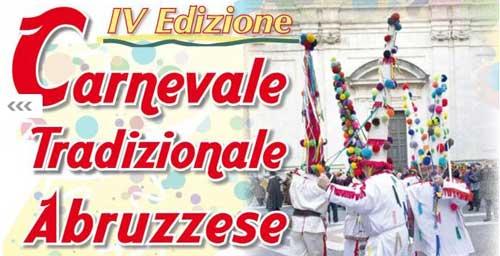 Il 12 febbraio appuntamento con il Carnevale Tradizionale Abruzzese a Chieti