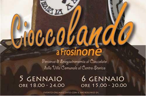 Cioccolando 2013 a Frosinone