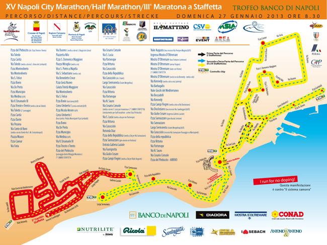 La maratona internazionale di Napoli