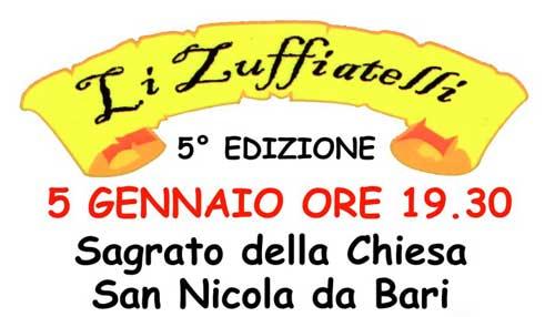Festa degli Zuffiatelli il 5 gennaio a Mentana