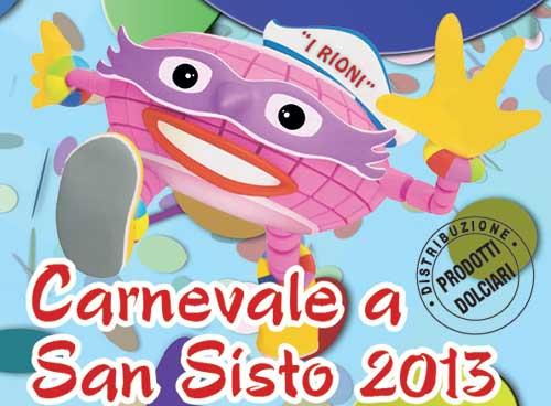 """Un """"Choco-Carnevale"""" quello di San Sisto a Perugia"""