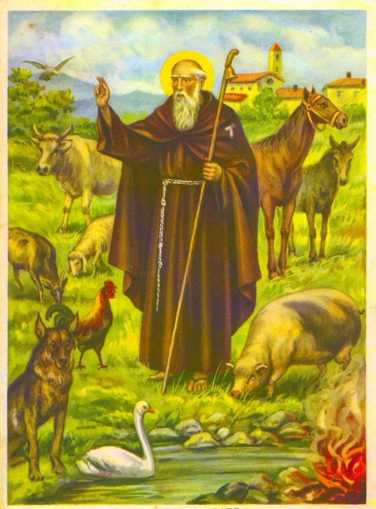 San'Antonio protettore degli animali domestici