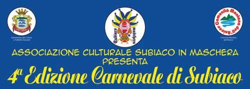 """Dal 3 febbraio """"Carnevale di Subiaco Ciak si gira"""""""