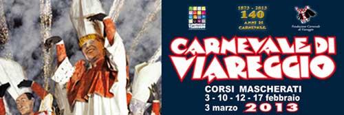 Il Carnevale di Viareggio compie 140 anni