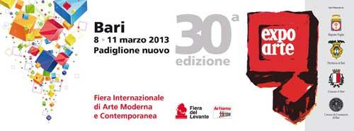 Bari dall'8 marzo Expo Arte