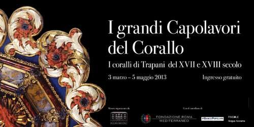 Catania, dal 3 marzo l'arte del corallo in mostra