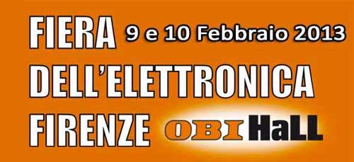 Firenze: Fiera dell'Elettronica il 9 e 10 febbraio