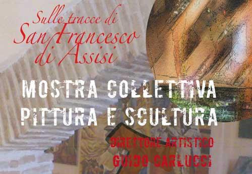 """San Francesco """"in mostra"""" in una collettiva al MACS di Greccio"""