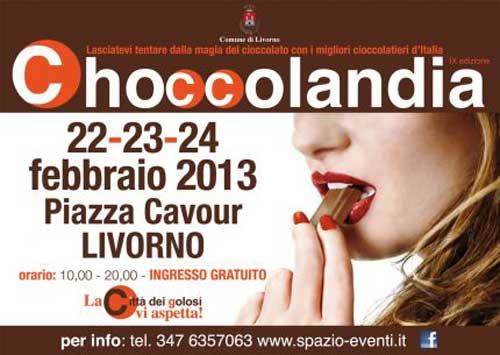 Livorno, dal 22 febbraio Choccolandia 2013