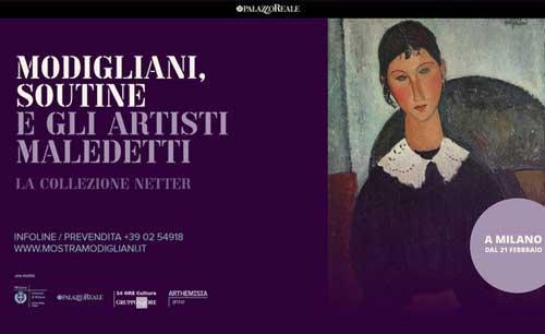 Modigliani, Soutine e gli artisti Maledetti in mostra a Milano