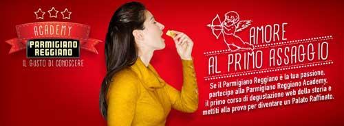 """Nasce sul web la """"Parmigiano Reggiano Academy"""""""