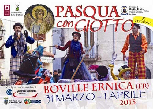 Frosinone: Pasqua con Giotto e Sagra della pizza fritta a Boville Ernica