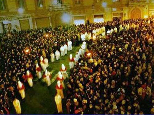 Pasqua, la processione del Venerdì Santo a Chieti
