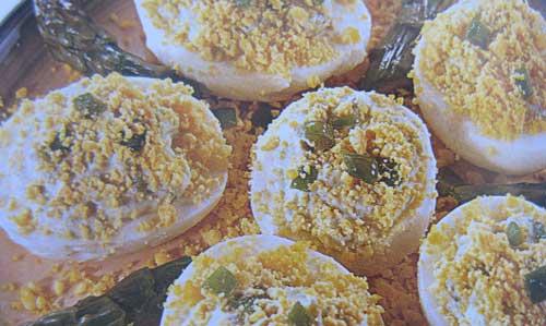 Ricette, la mimosa di uova