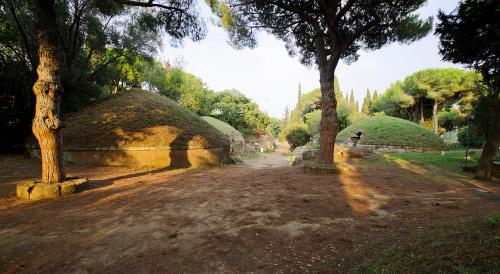 Itinerari. Le Necropoli etrusche del Lazio