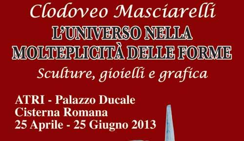 Atri, la mostra di Masciarelli a Palazzo Ducale