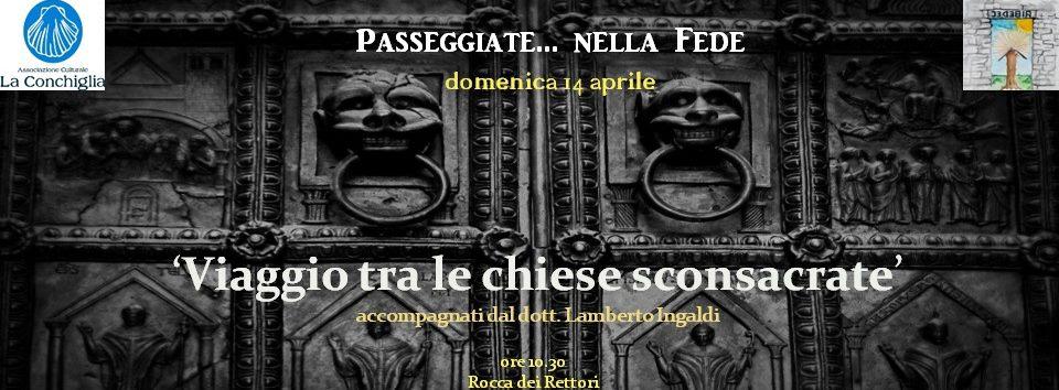 Benevento, il 14 aprile passeggiate... nella fede