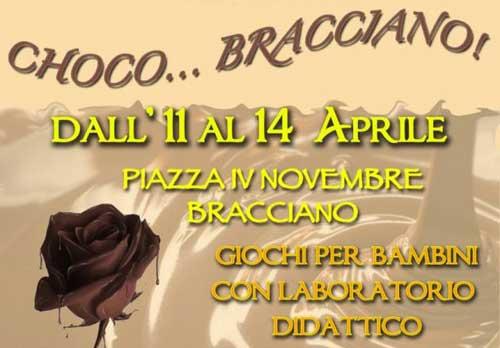 """Cioccolato in festa al """"Choco…Bracciano"""""""
