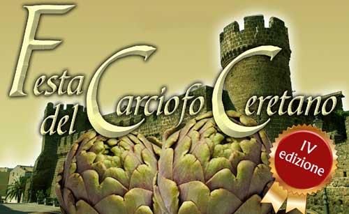 Cerveteri, gastronomia e spettacoli alla Festa del Carciofo Ceretano
