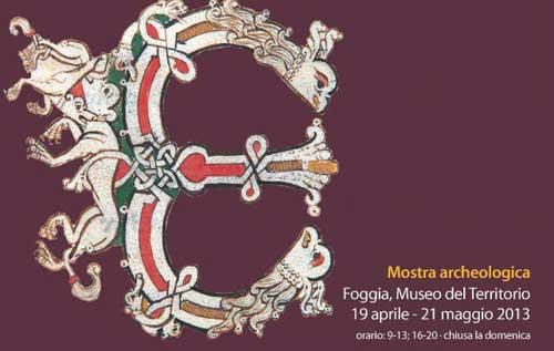Foggia, in mostra San Lorenzo in Carminiano e Pantano