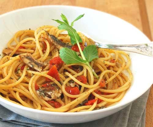 Spaghetti alle alici di Procida