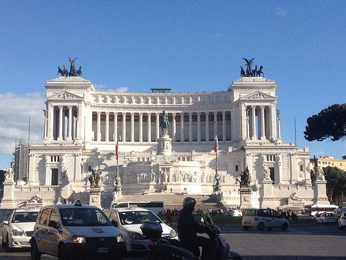 L'Altare della Patria a Piazza Venezia a Roma