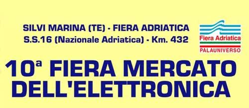Abruzzo, a Silvi Marina la Fiera Mercato dell'Elettronica