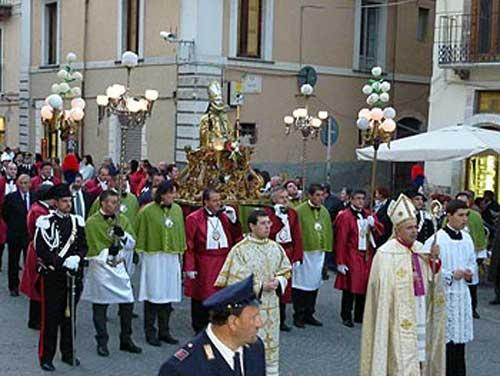 Abruzzo. A Sulmona la festa di San Panfilo